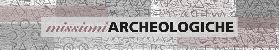 Banner Missioni Archeologiche